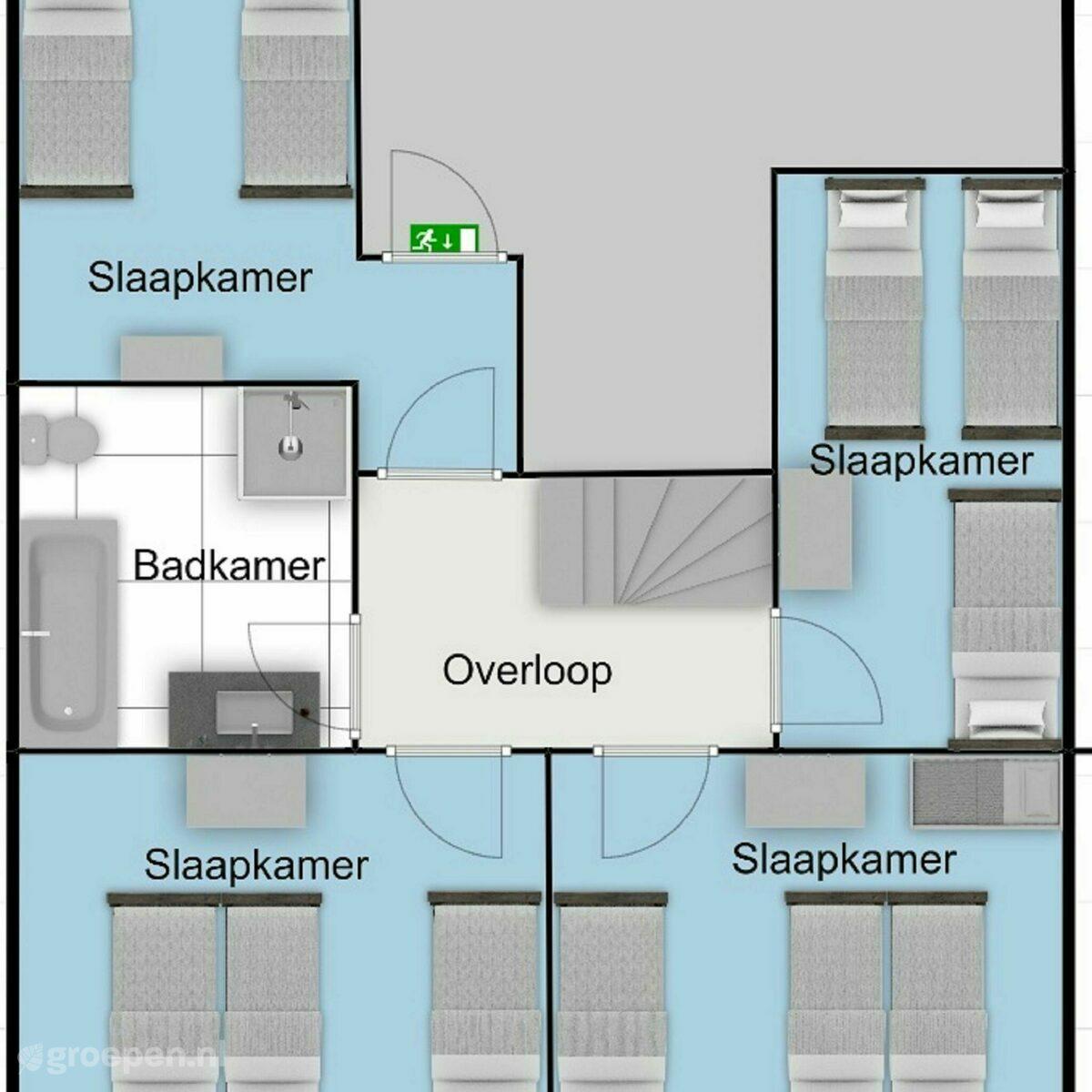 Group accommodation Sint Maartenszee