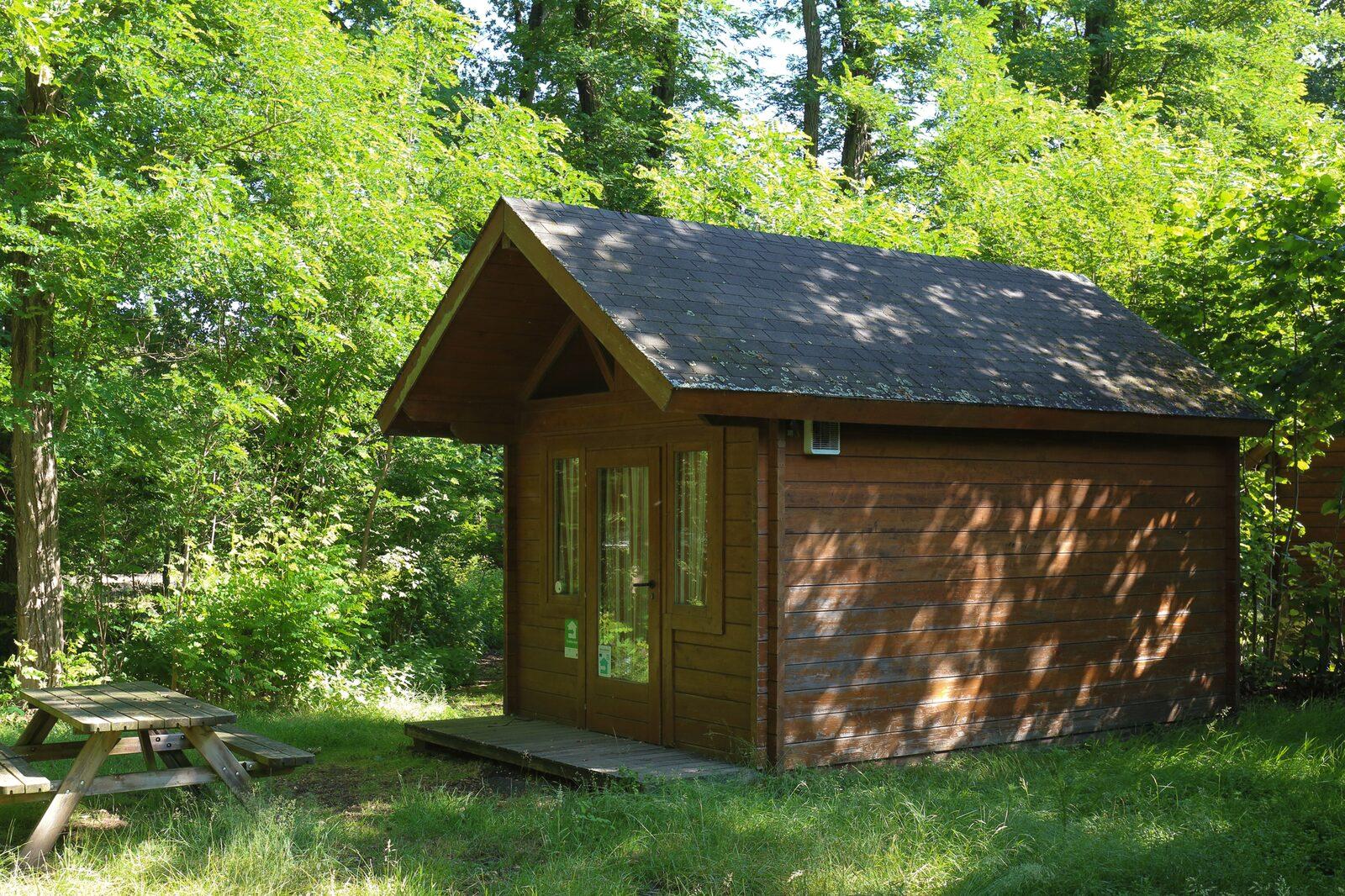 Campinghütte für 4 Personen