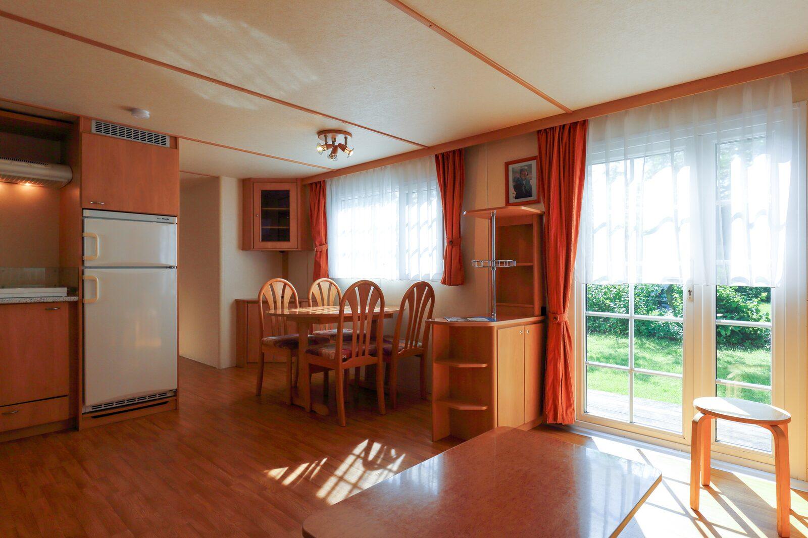 Burstner mobile home for five people