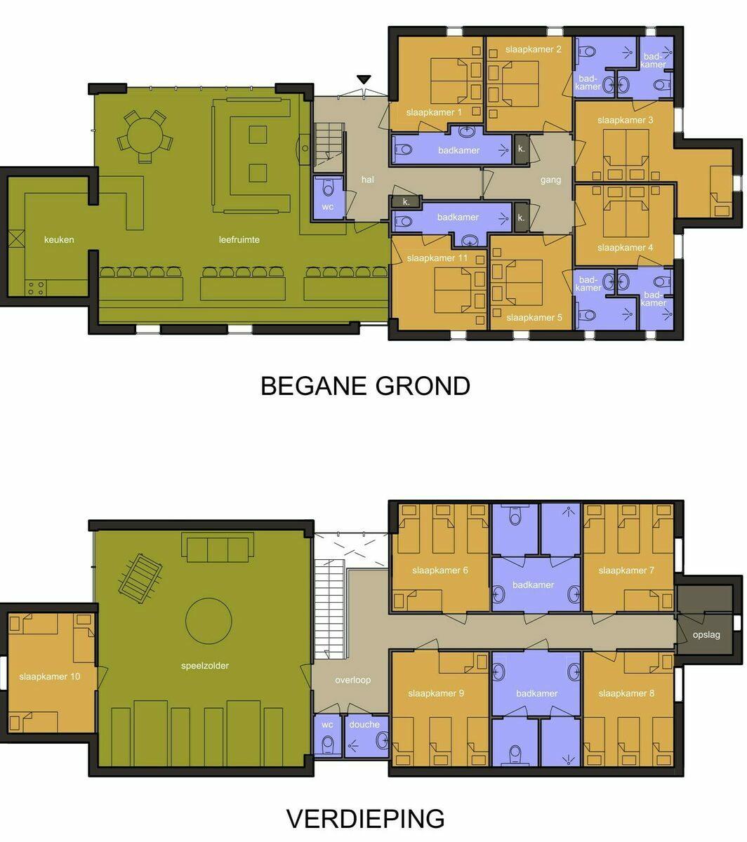 Group accommodation Buurse