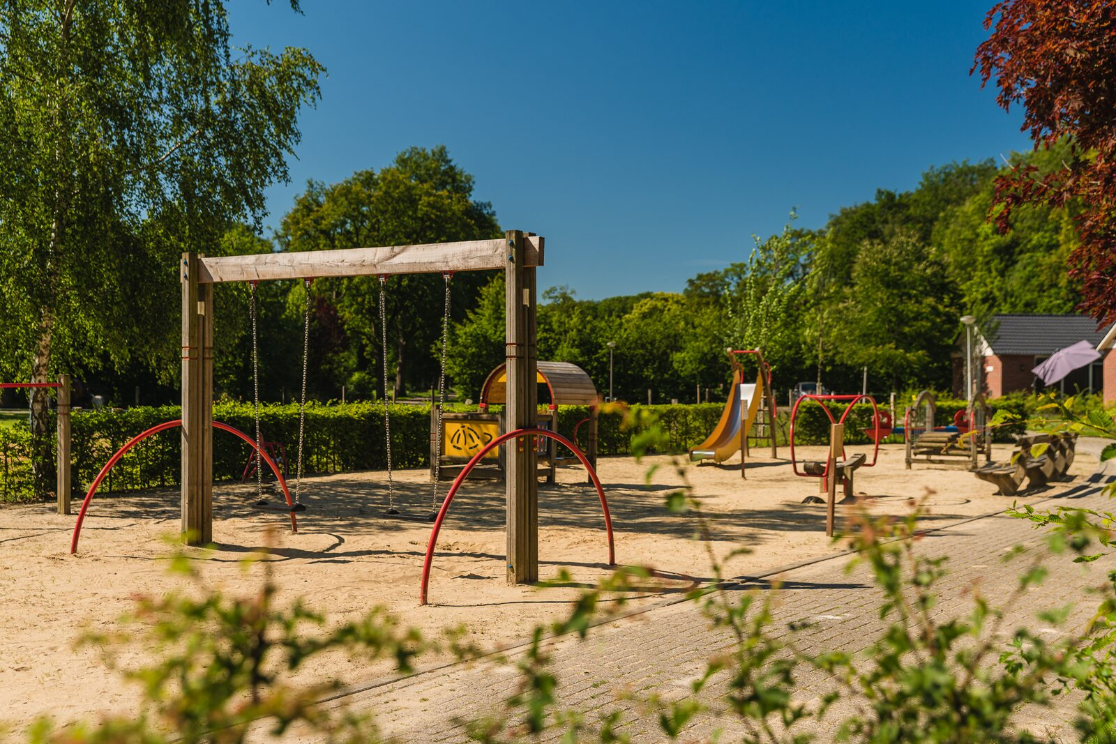5 person Baby & Children's bungalow | Theme: Farm