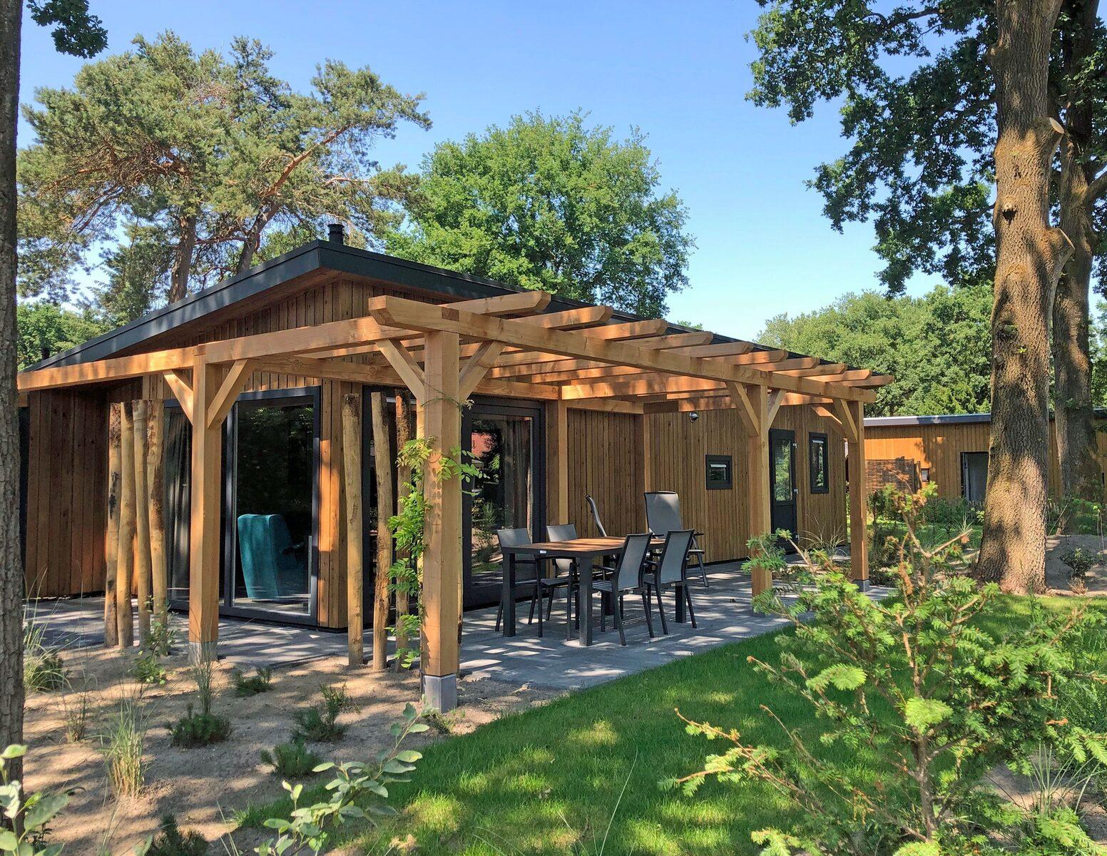 Wood Lodge Eco 6 personen ( Sauna )