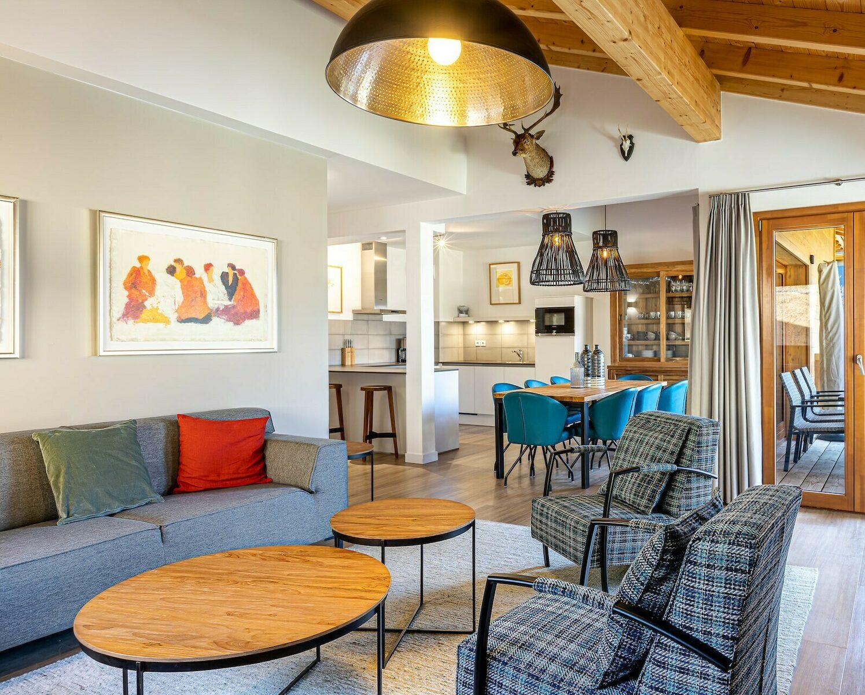 Luxe 4 kamer appartement met Sauna   7 Pers.