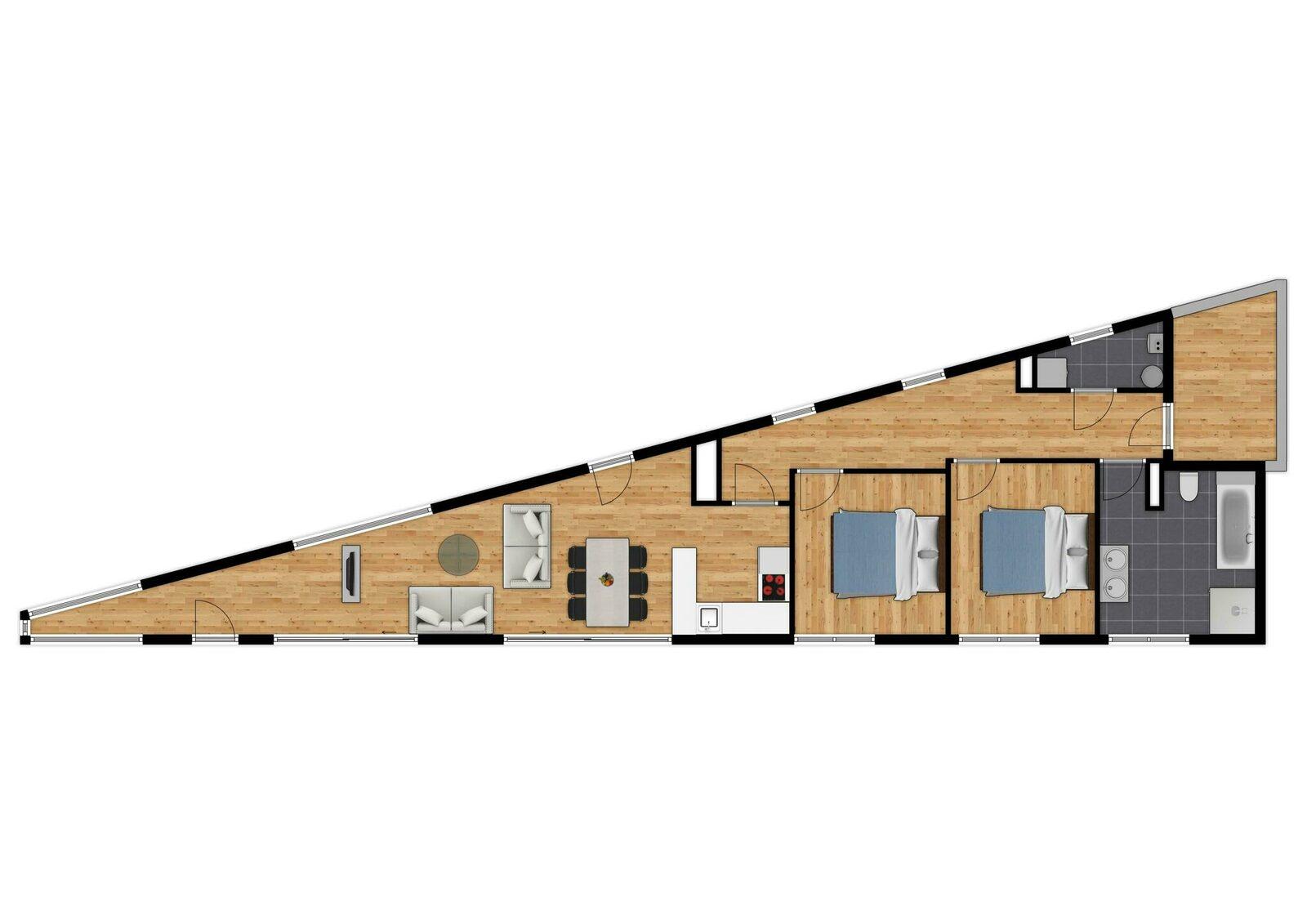 Penthouse - 4p | Rooftop terrasse | Vue sur mer