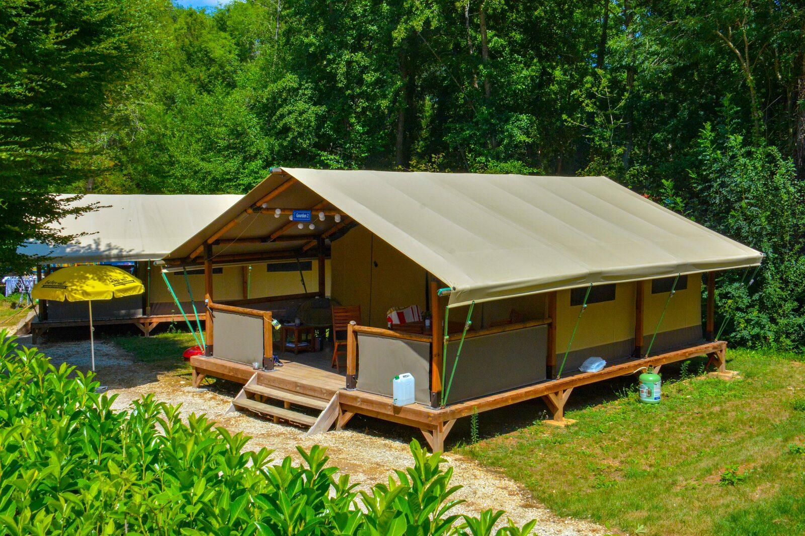 Tente lodge Gourdon