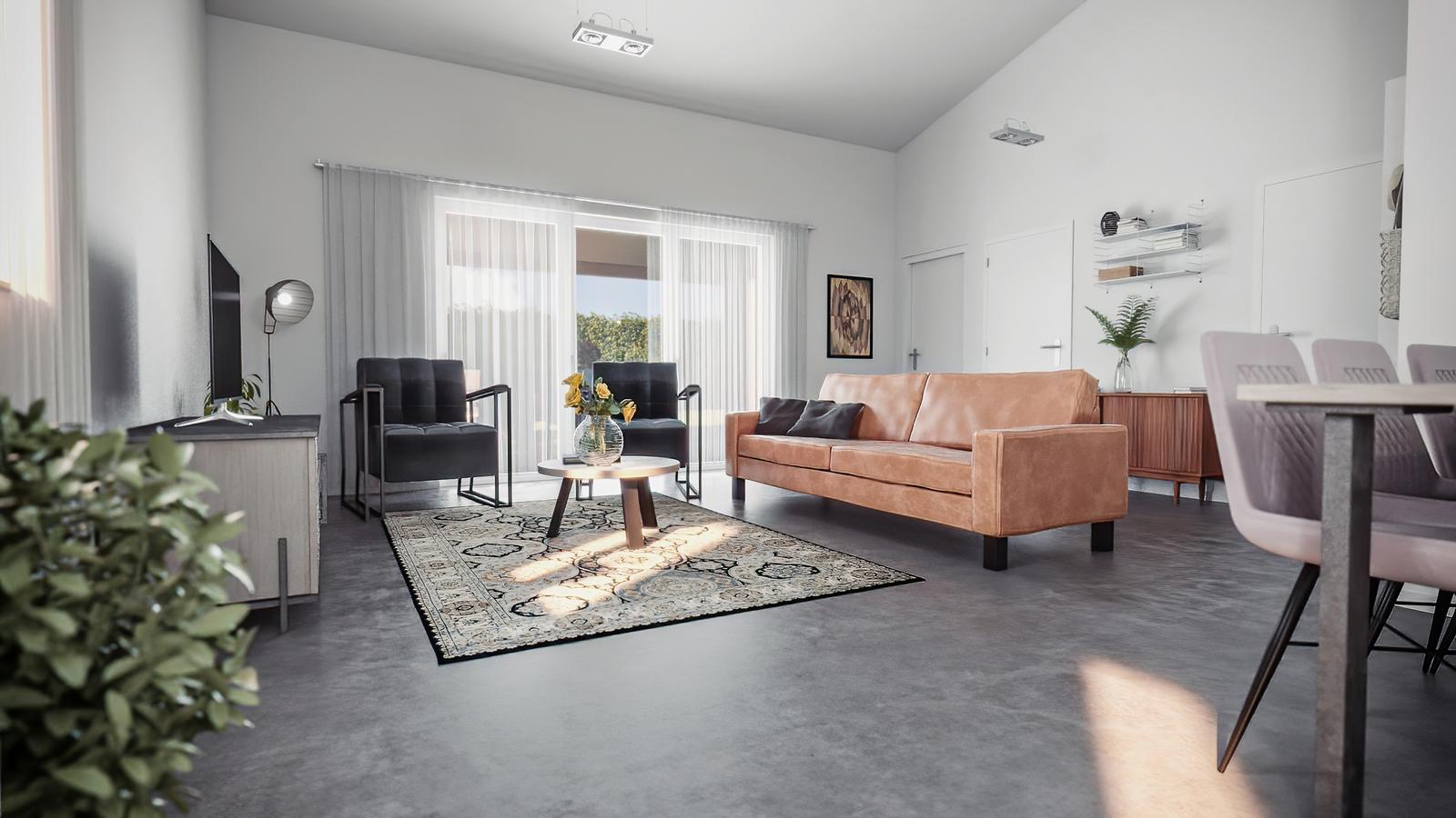 3-kamer villa voor 4 personen - type 1