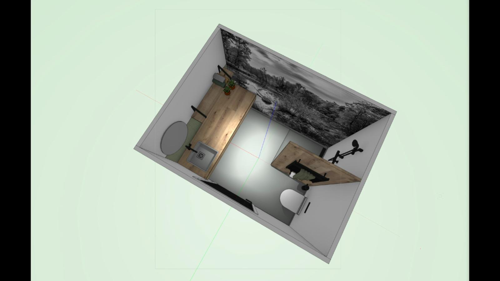Panoramaplaats met privé sanitair deluxe