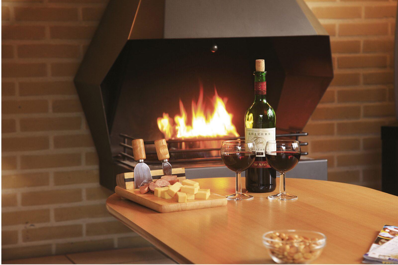 Fireplace blocks