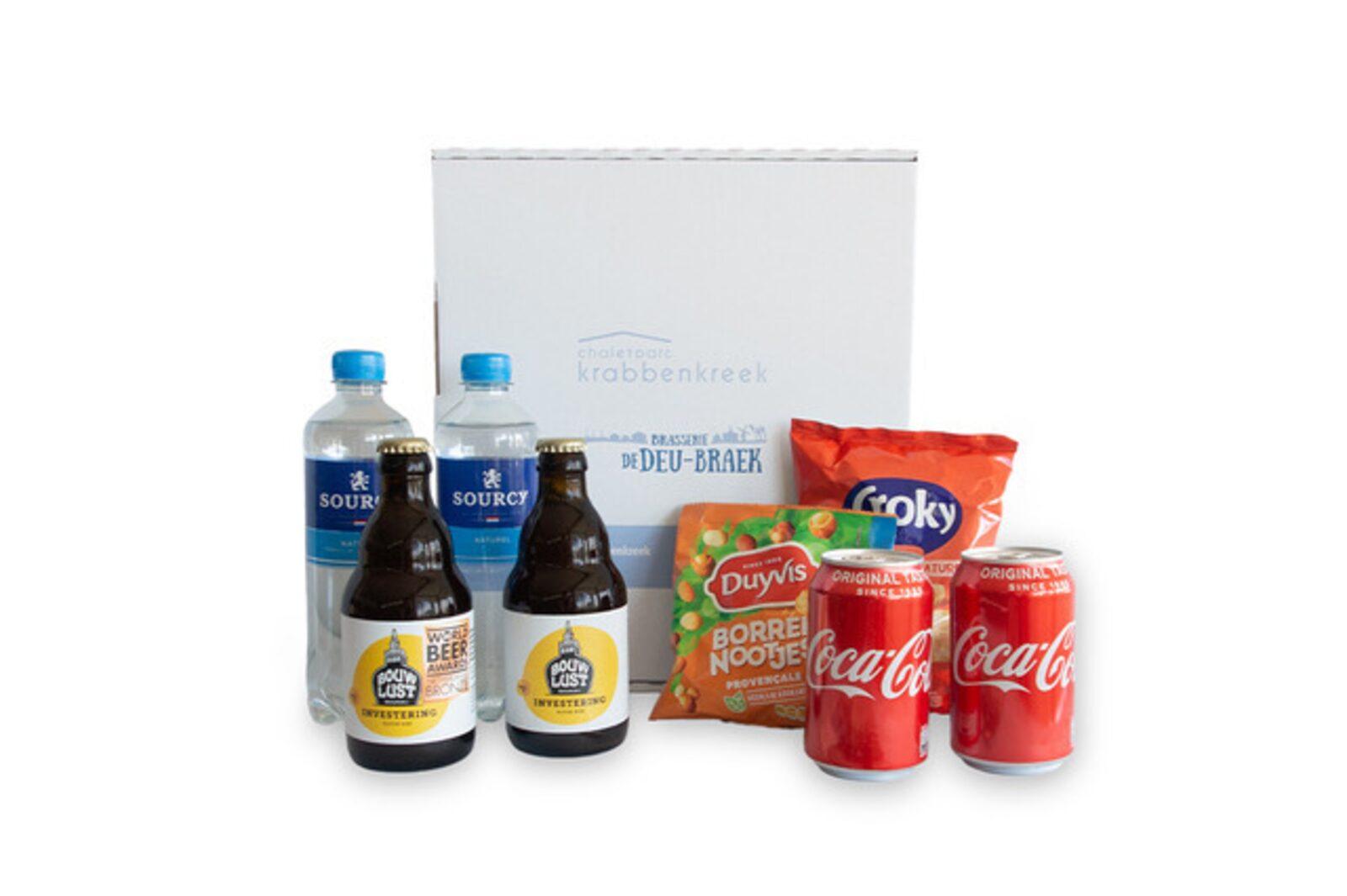 Minibar-Paket mit Bier