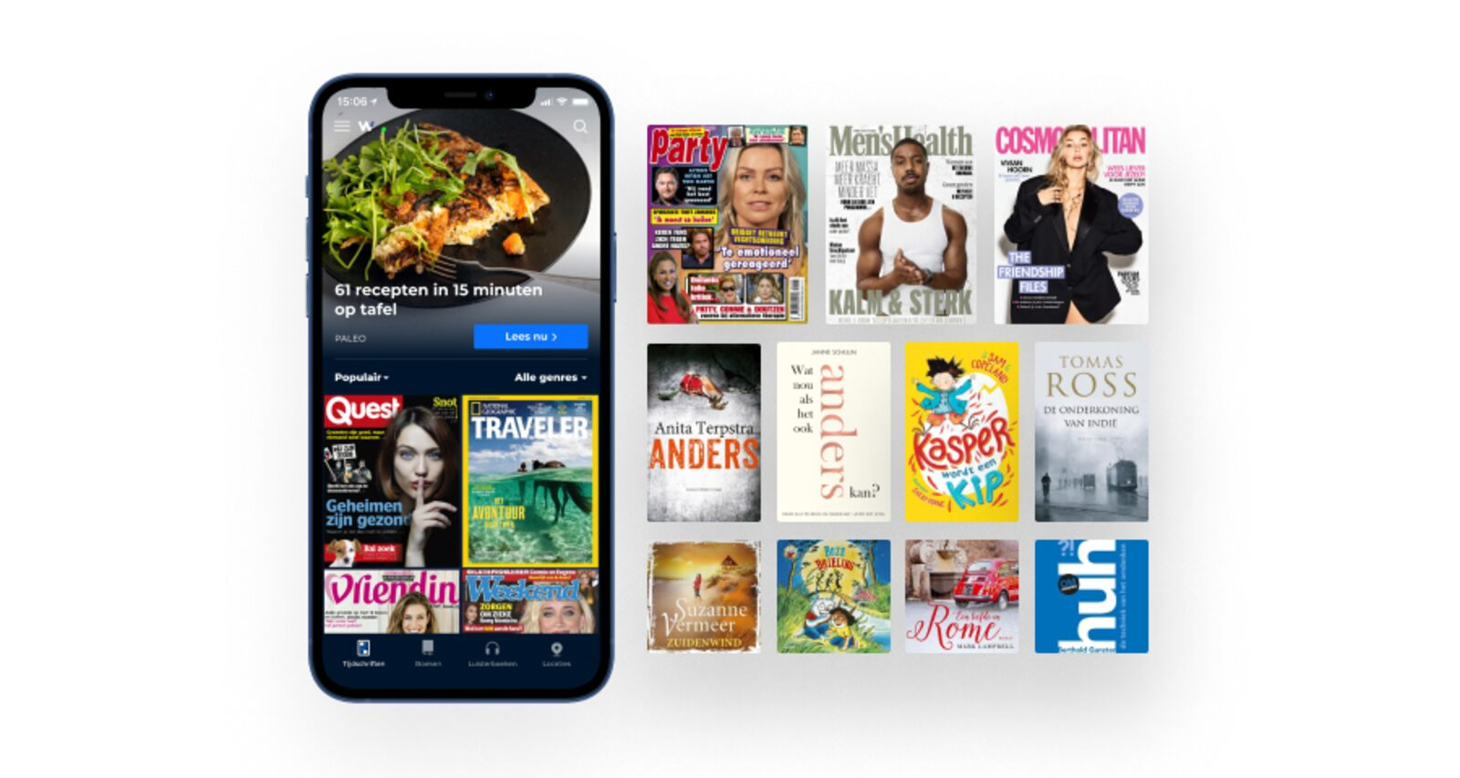 Wait | Zeitschriften, Bücher und Hörbücher