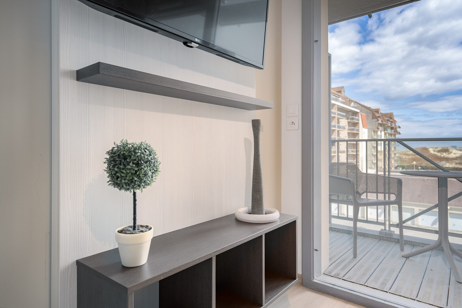 Studio for 4 people with balcony