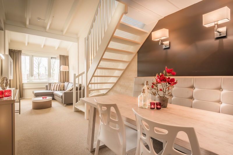 Apartment (6p) at the beach at holidaypark with indoor swimming pool and sauna. Beachresort Schier at Schiermonnikoog (EE6 Type C)