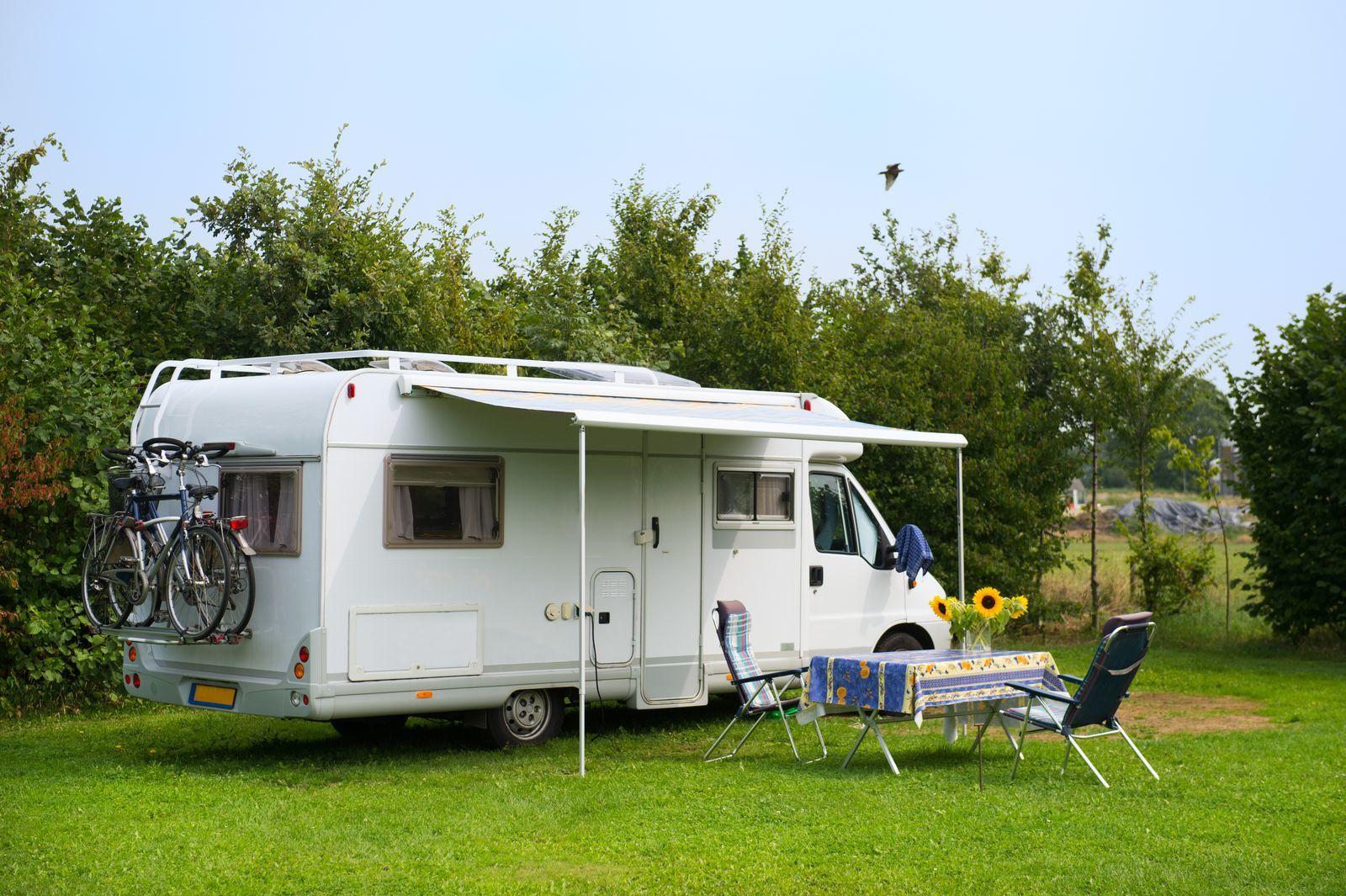 Camperplaats groot