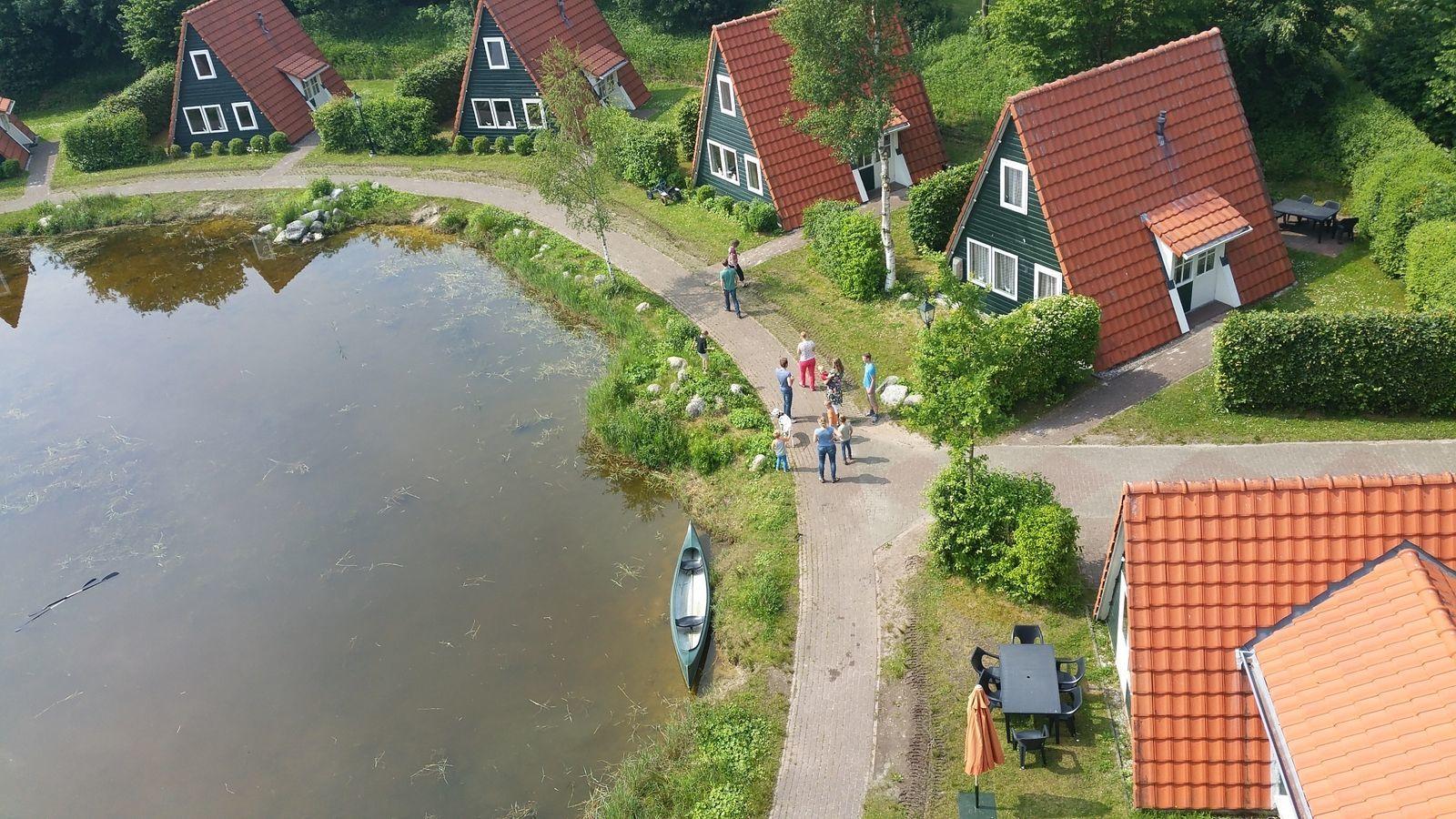 Groepsverblijf Kapschuur + 10 vissershuisjes (60 personen)