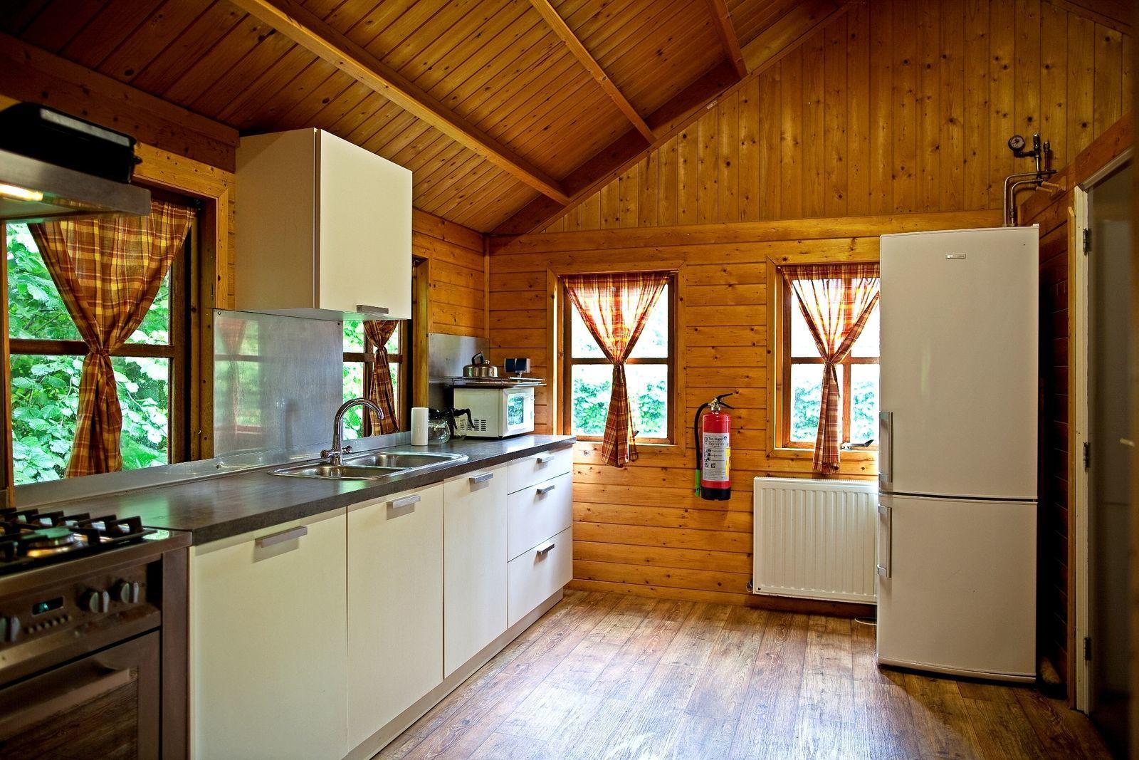 Blockhaus mit 6 Wanderhütte