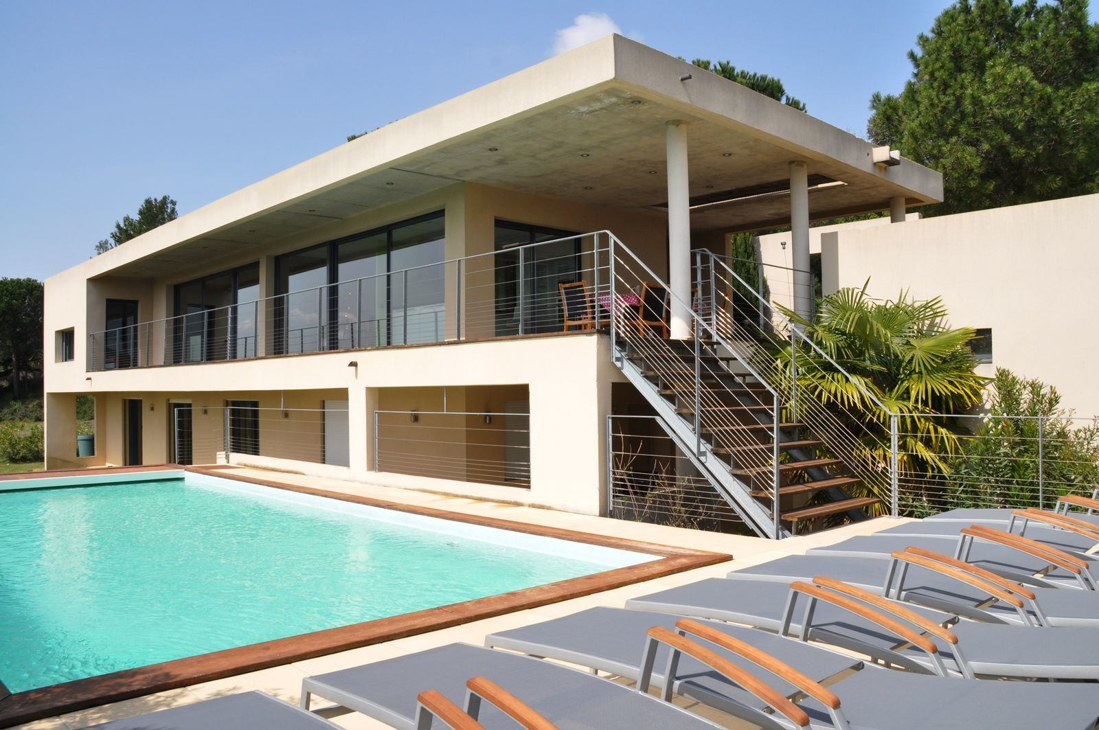 Villa la Vue 2 vakantievilla met privezwembad Zuid-Frankrijk