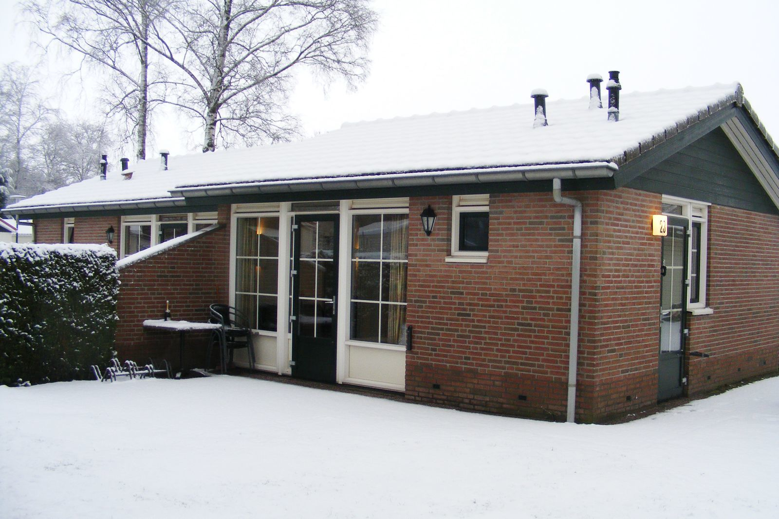 4-person bungalow Heuveltjes