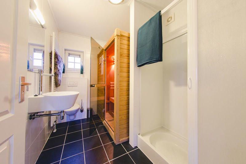 5p Reggehooiberg met sauna op vakantiepark Molke