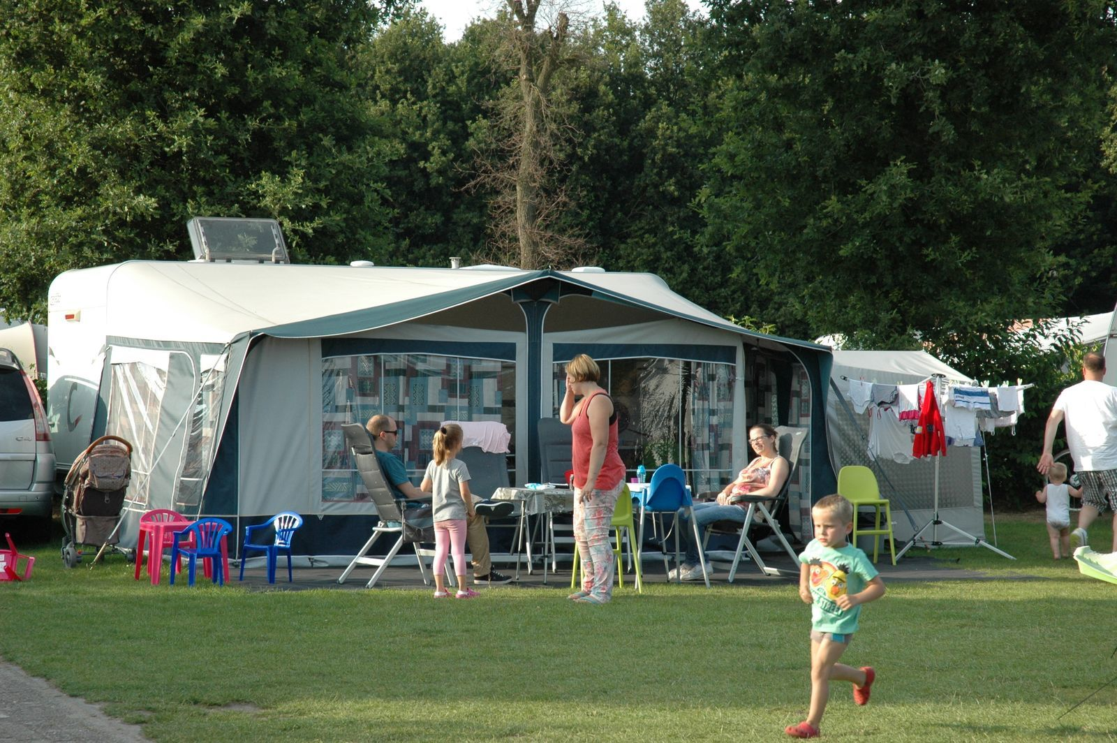 Camping pitch 'Comfort'
