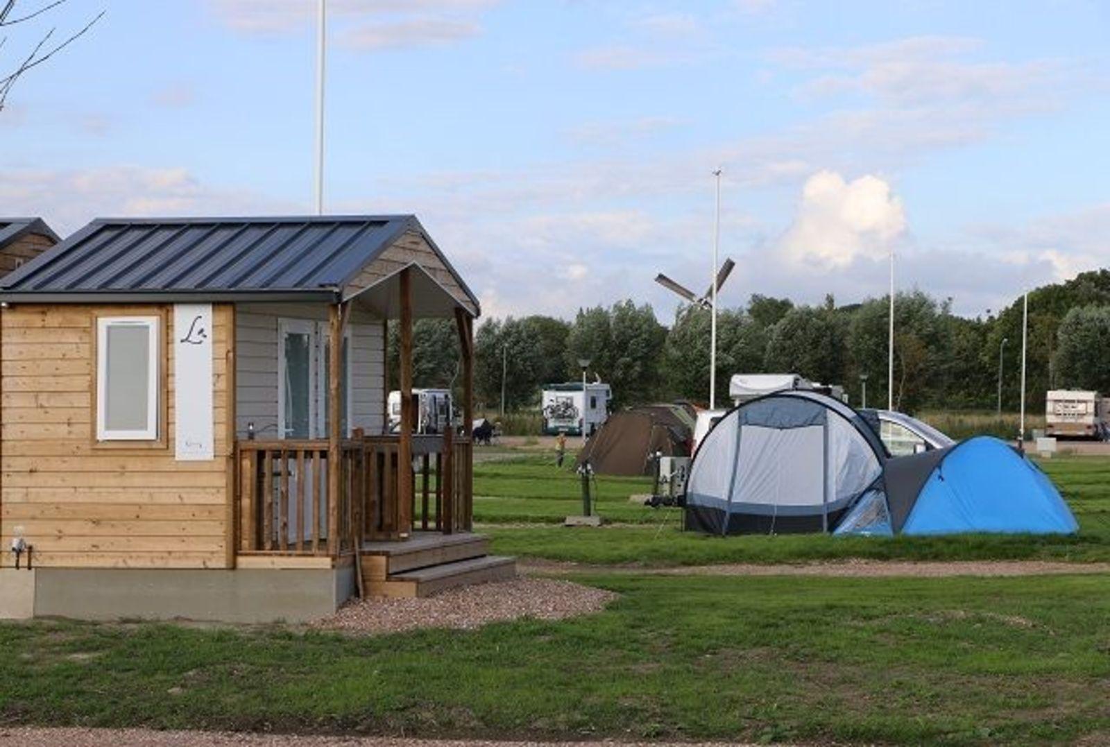 Kampeer- / Camperplaats Comfort Plus