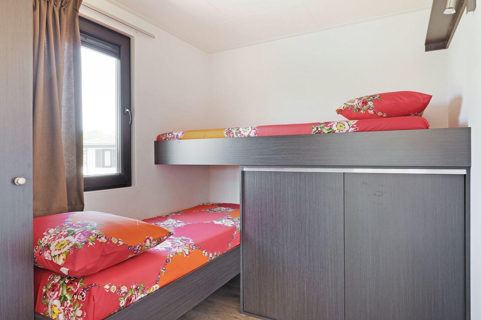 Wasservilla: sechs Personen, drei Schlafzimmer