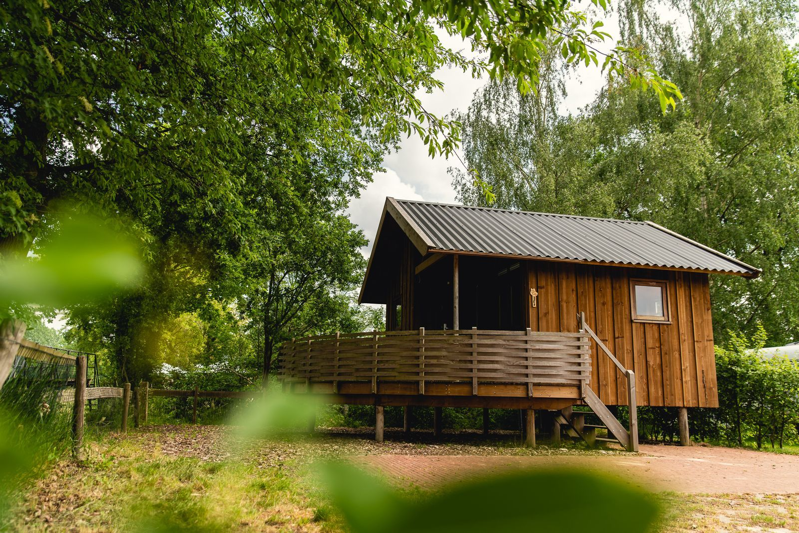 4-Personen-Glamping-Cottage
