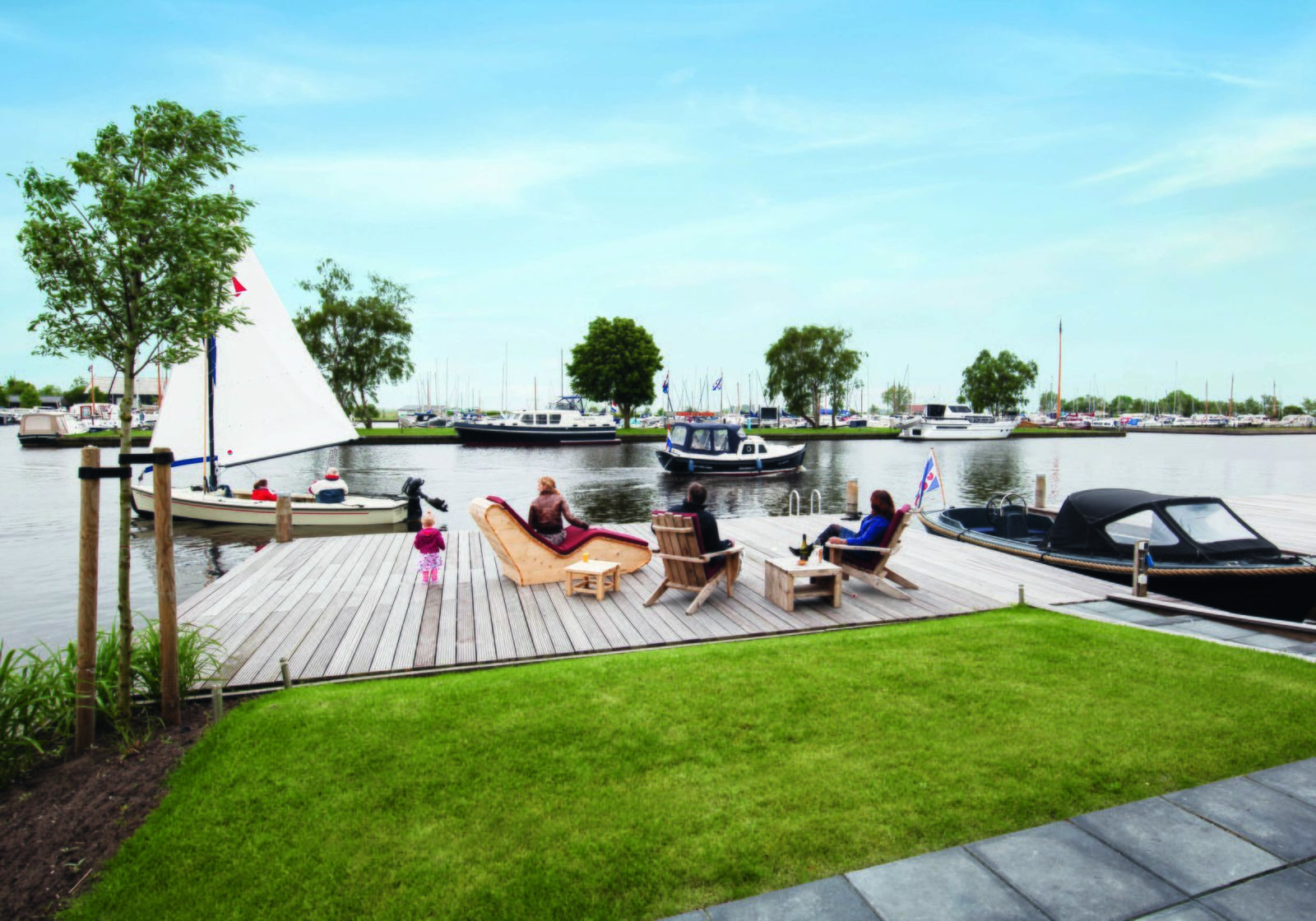 Holiday home Sneekermeer 8
