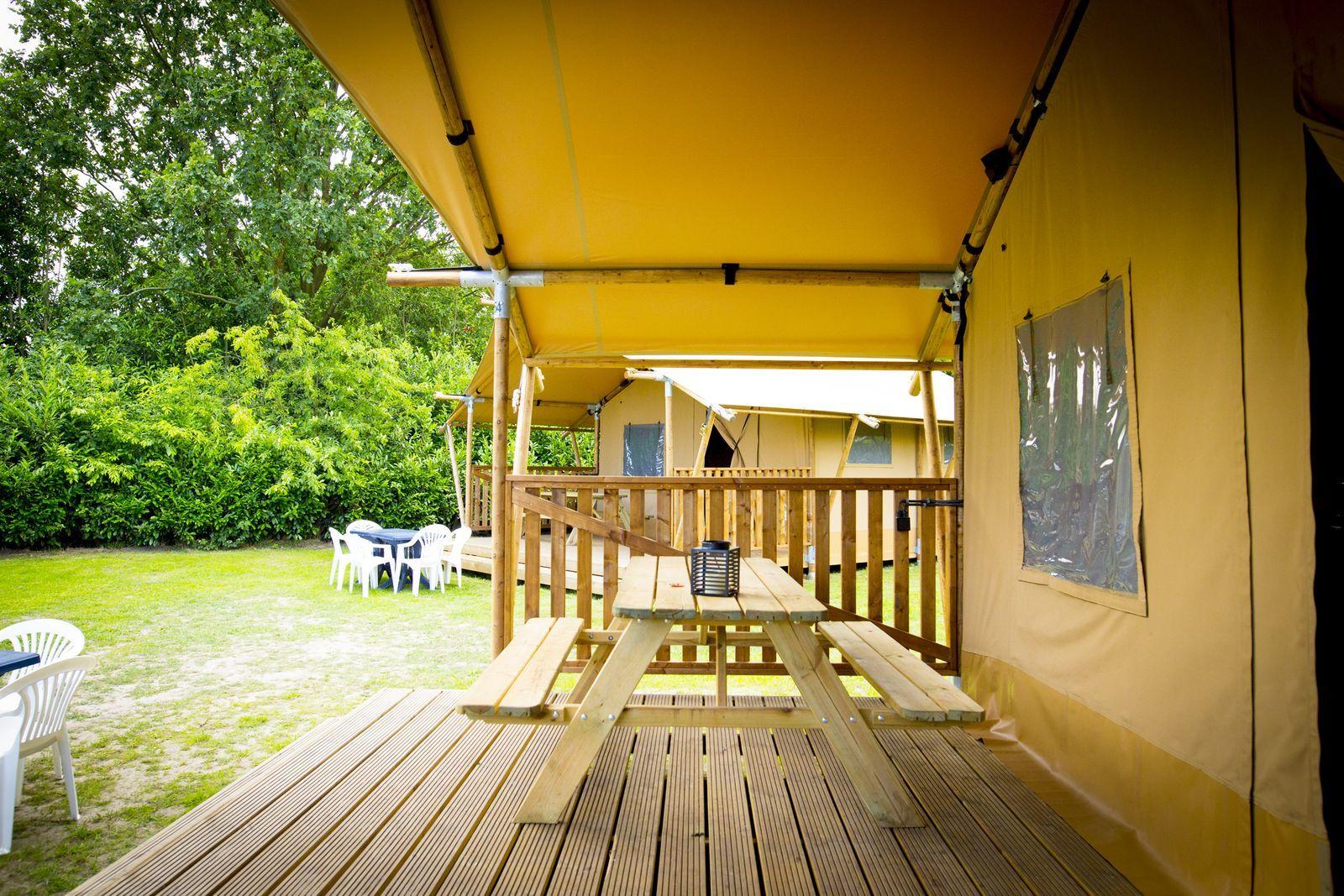 Rental tent Bungalow Deluxe 5p.