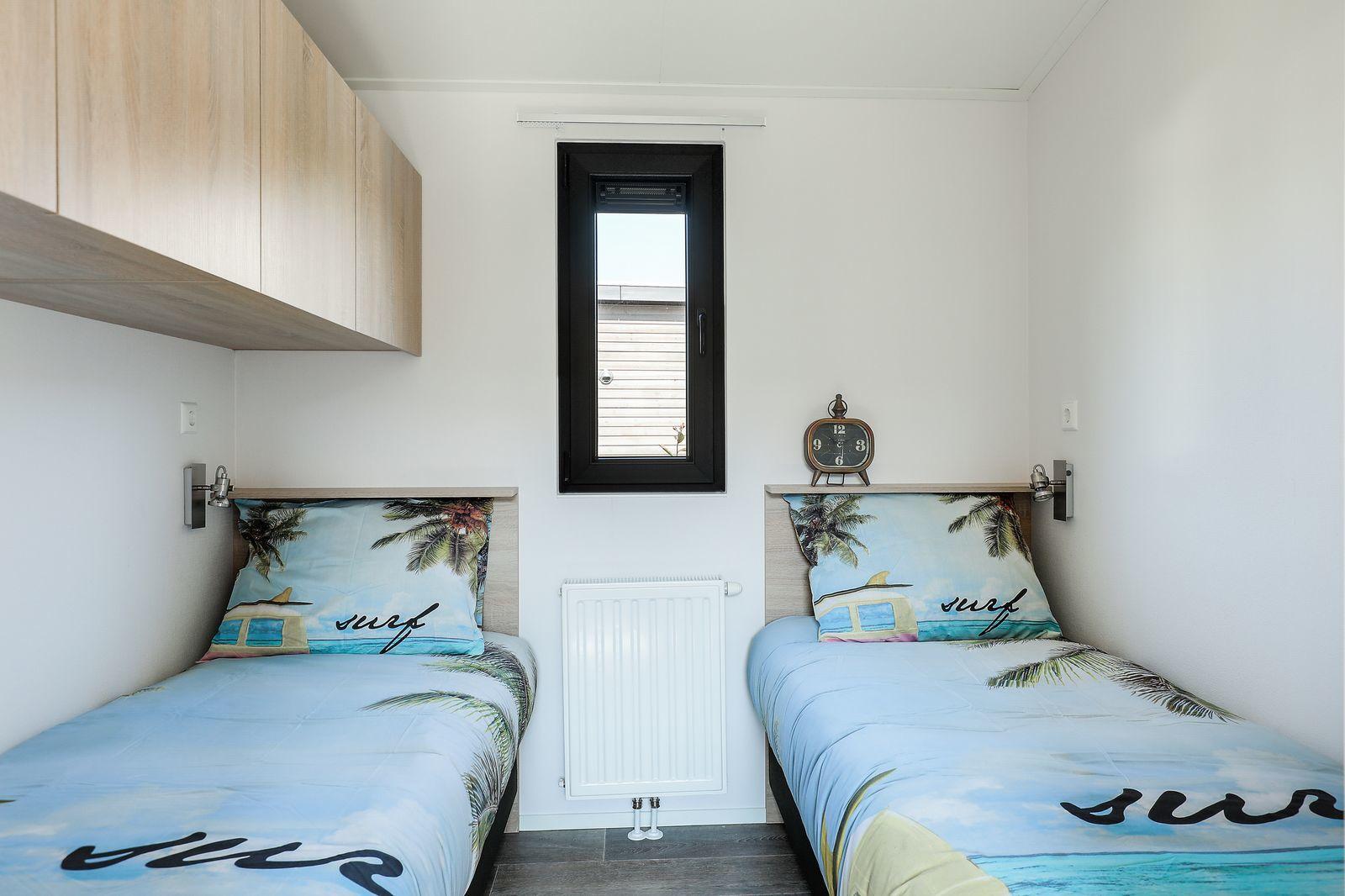 Lodge: 6-persoons, 3 slaapkamers