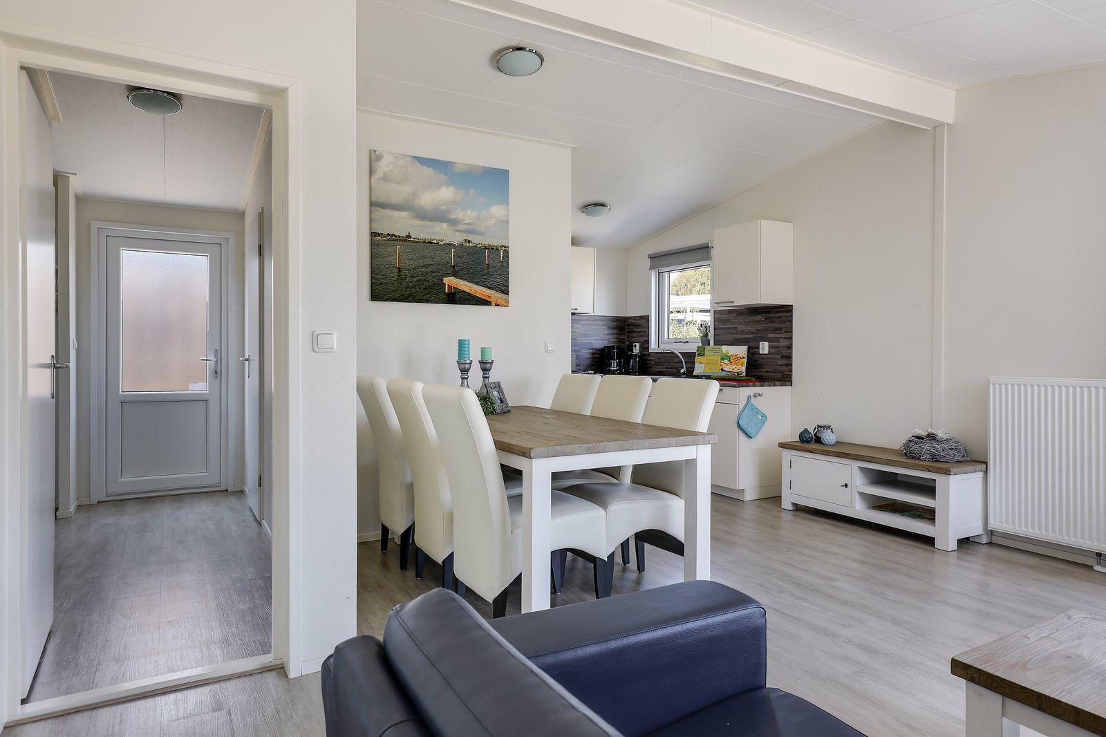 Strandhuis: 6-persoons, 3 slaapkamers