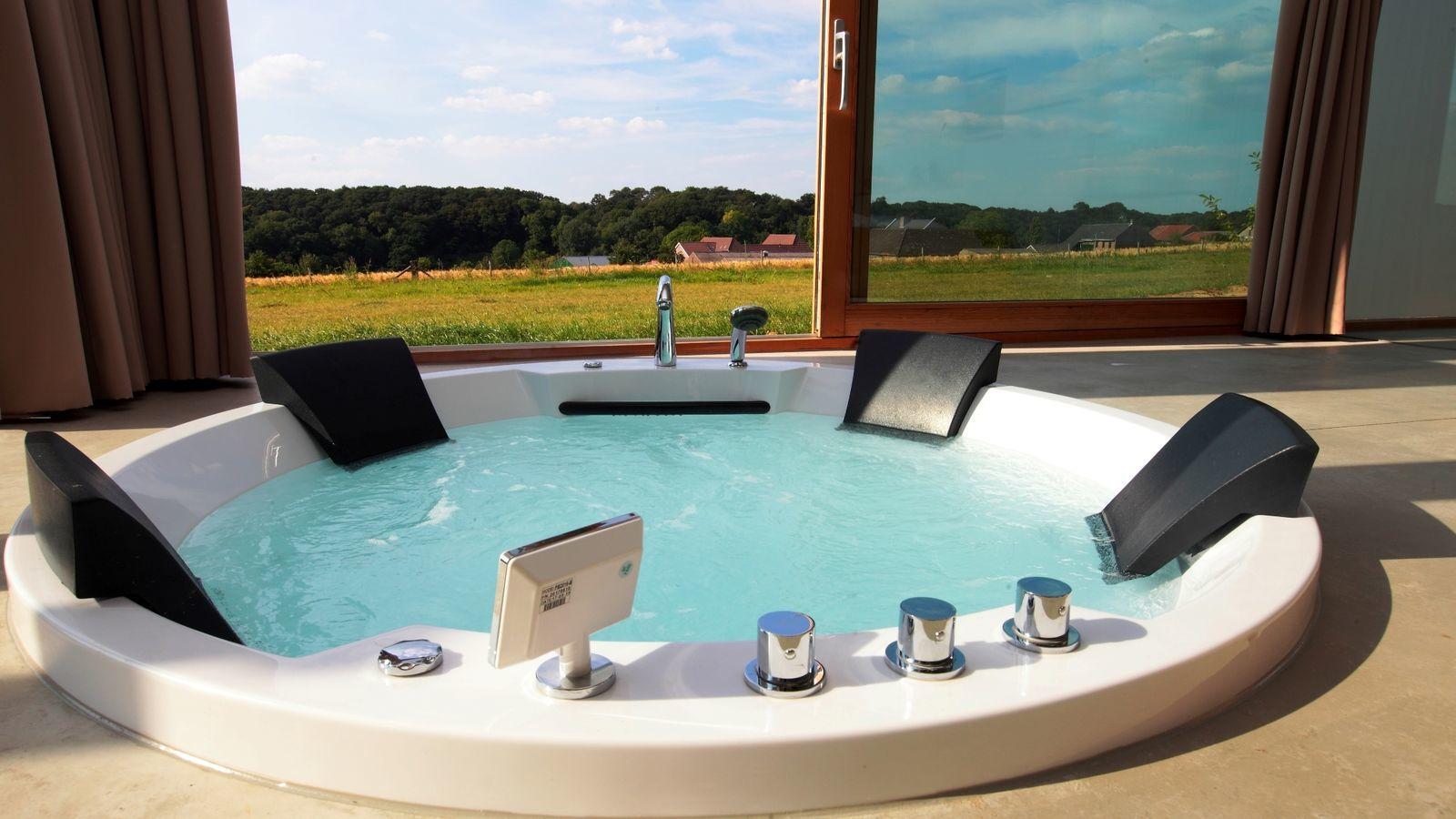 Landgoed St. Geertruid - Natuurloft®  Water met hottub en jacuzzi