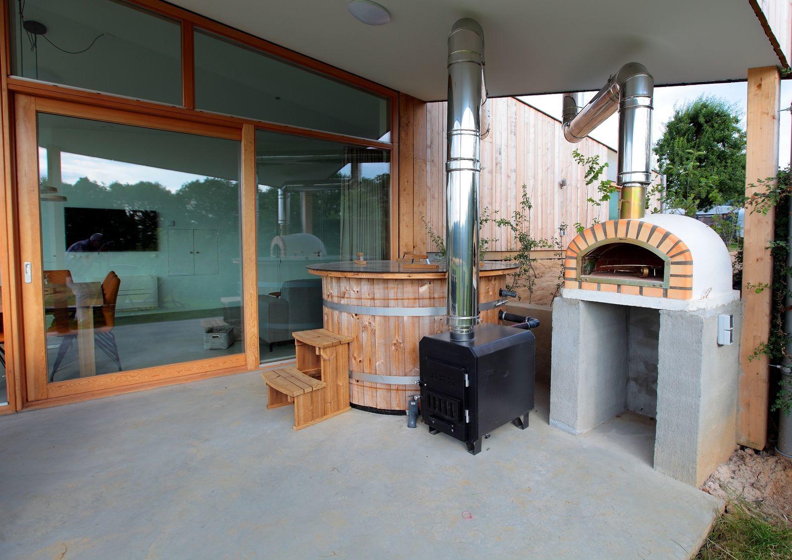 Landgoed St. Geertruid - Natuurloft® Koken met hottub en pizzaoven