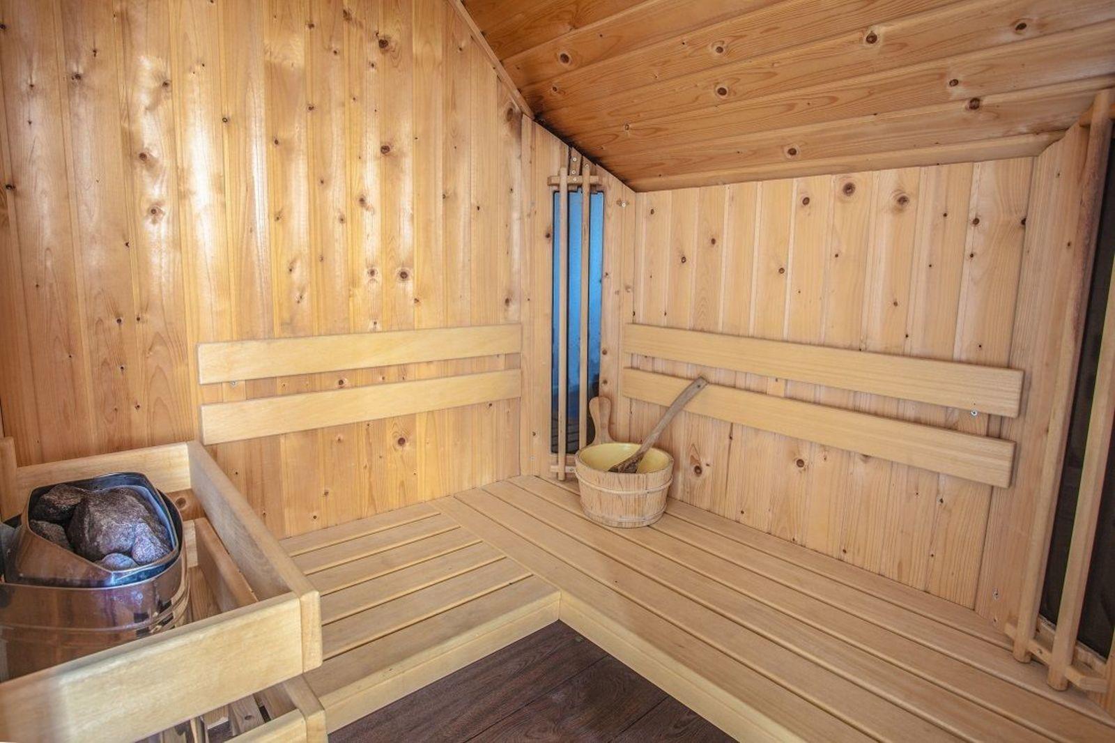 Sauna 6 pers.