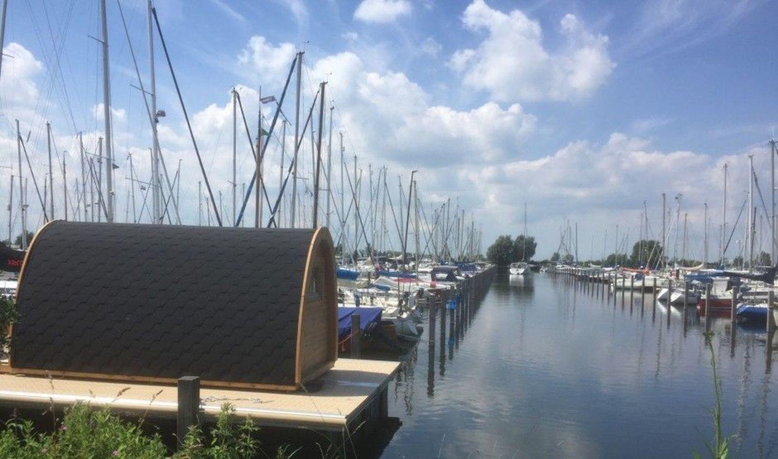 Water Bubble Marina Muiderzand Almere