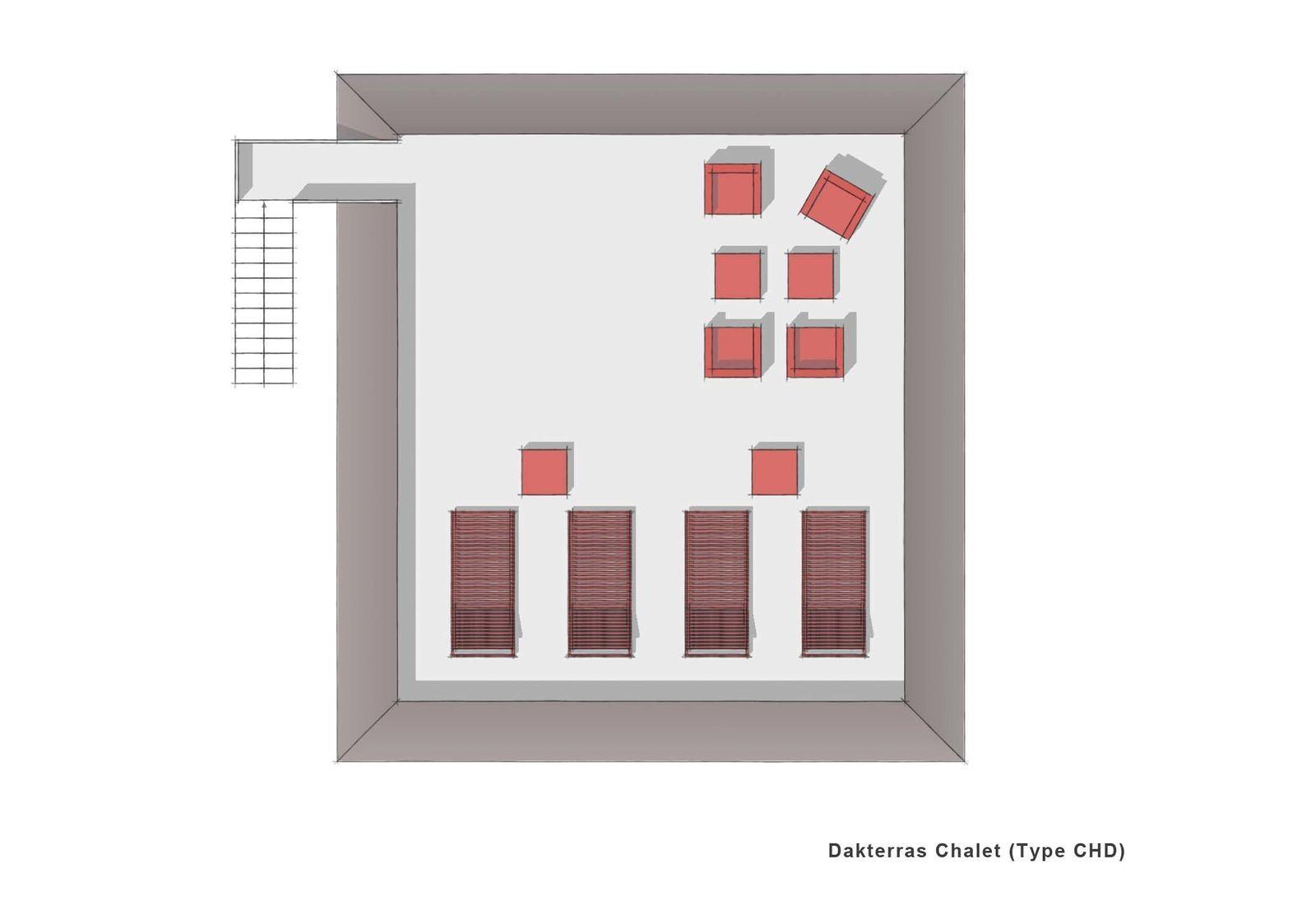 7-Persons Chalet mit Dachterrasse