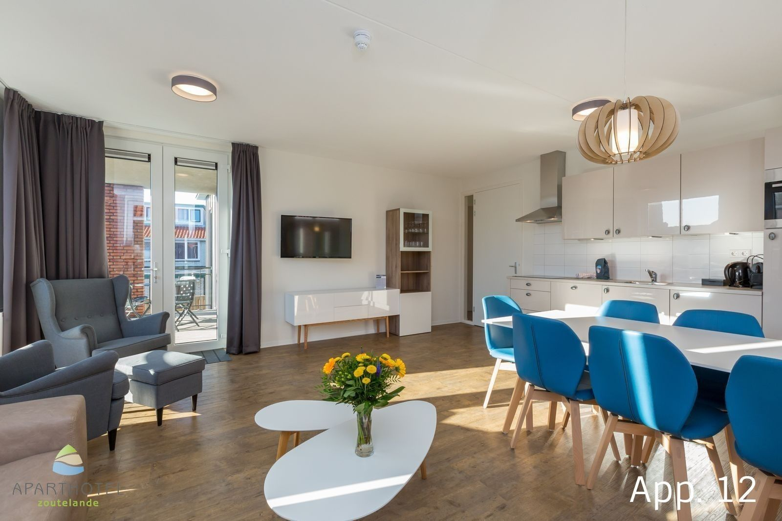 Luxury 6-person apartment | Zoutelande