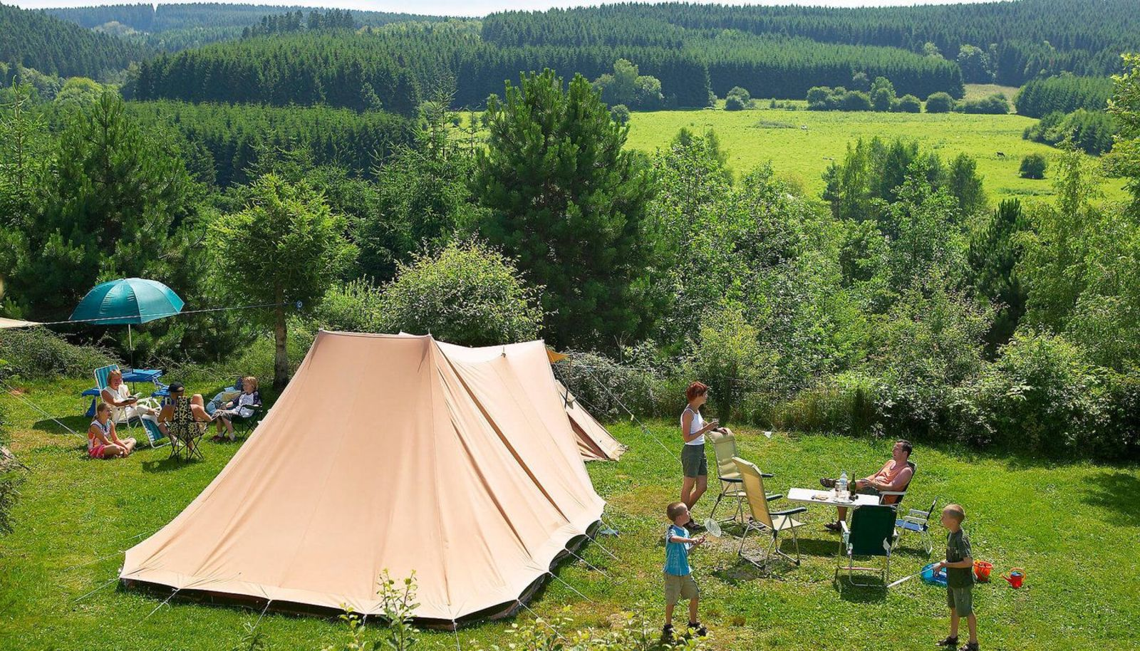 Camping pitch Comfort Plus